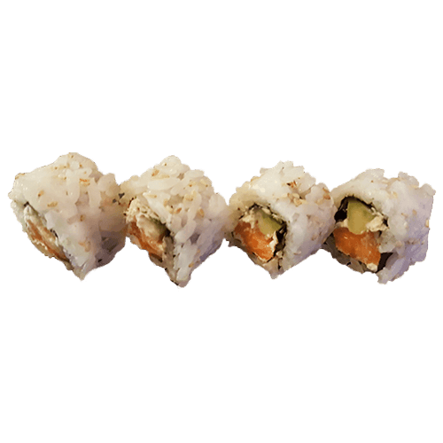 Foto Cream cheese salmon maki